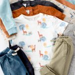kids boys capsule wardrobe flatlay